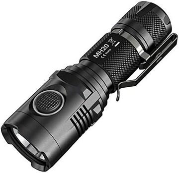フラッシュライト NITECORE USB充電 USBケーブル付 MH20 懐中電灯 LED