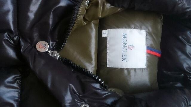 モンクレール ダウン 2 黒色 MONCLER 即決 エベレスト  < ブランドの