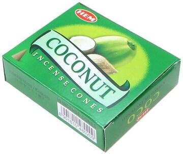 HEM ココナッツ コーン 7size[お香・インド香]