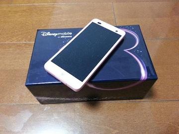 即落/即発!!新品未使用 F-07E Disney Mobile ピンク