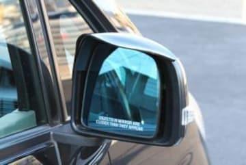 ドアミラーバイザーtype1 ドアミラーの視界確保に