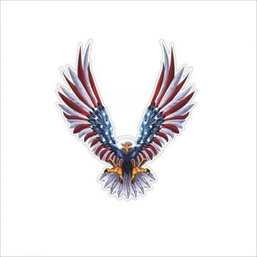 ステッカー鷲イーグル/ハクトウワシ 米国/国旗
