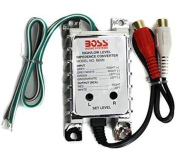 BOSS ハイローコンバーター ゲイン調節付 B65N AUDIO