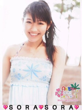 【AKB48 渡辺麻友】海外旅行日記〜ハワイはハワイ〜DVD特典生写真�C