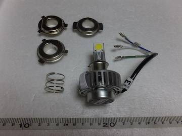 バイク LEDヘッドライト HI-LO PH7.PH8.H4 3面発光18W