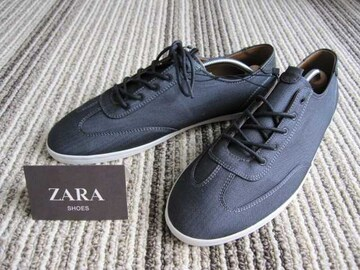□ZARA/ザラ デザイン スニーカー/メンズ27.5cm☆新品