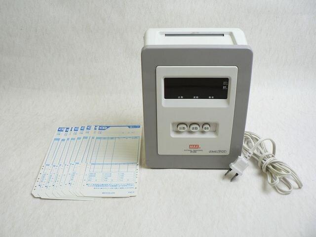 MAX タイムレコーダー ER-80S ◆タイムカード10枚付属  < インテリア/ライフの