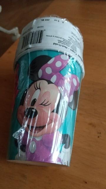 ミニーマウスの紙コップ  < ブランドの