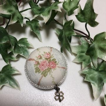 ハンドメイド  小花柄マカロンメジャー 裁縫道具 教材 事務用品