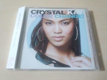クリスタル・ケイCD「Color Change!」Crystal Kay●