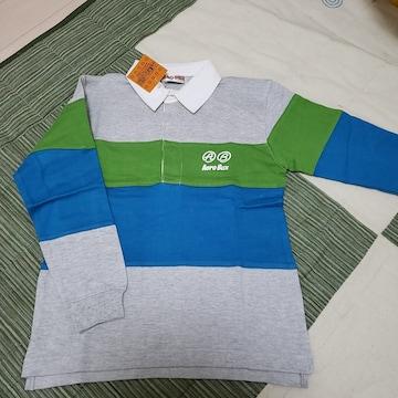 120cm AERO BUX ラガーシャツ ポロシャツ 長袖 �A