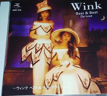 ベストCD Wink Best&Best De luxe 帯無し ウィンク