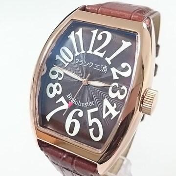 送料無料 フランク三浦 腕時計 六号機(改)マグナム FM06K-BRRG