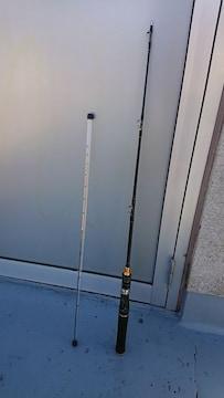 130センチ 筏竿 ロッド トラベルロッド