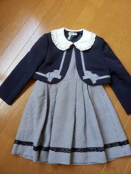 ☆新品同様☆入園式入学式フォーマルスーツ☆115�p