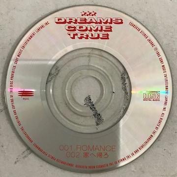 ドリームズカムトゥルー/ロマンス/8CMシングル/ケース無し