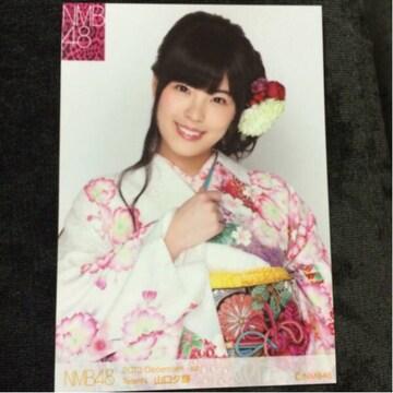 NMB48 山口夕輝 2013.December 生写真 AKB48