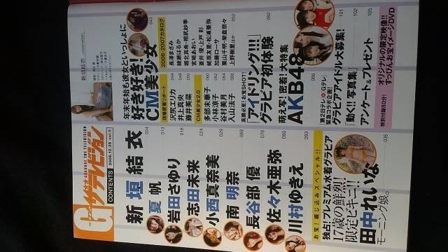 グラビア ザテレビジョンVol.5 新垣結衣 お宝イメージDVD G < タレントグッズの