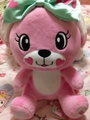 EARTH MAGIC アースマジック マフィーちゃんぬいぐるみ ピンク☆