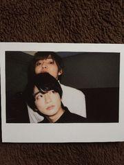 Hey!Say!JUMP 公式カレンダー チェキ風カード 知念侑李&薮宏太