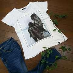 〇しまむら〇女の子プリントTシャツ*・゜