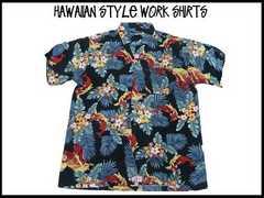 レトロ オールドスクール アロハ新品 ハワイアン ガラ ストリート USA S/S stuss(XL)209
