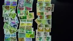 62円切手バラ色々60枚新品未使用品  6260ー7