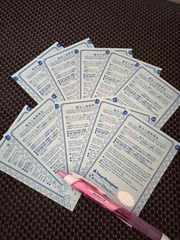 10枚 優先入場整理券 ディズニー ファストパス チケット
