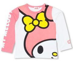 新品BABYDOLL☆マイメロディ フェイス ロンT 120 Tシャツ ベビードール