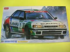 ハセガワ 1/24 スバル レガシィ RS 「1992 スウェディッシュラリー」 限定再販品