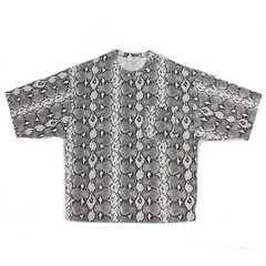 【HYKEハイク】 PYTHON PRINT BIG T-SHIRT/パイソン Tシャツ