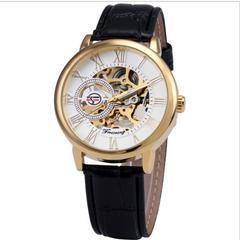 輸入時計★品格ある欧州アンティーク調☆メンズ腕時計FORSINING