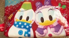 ディズニー TDL クリスマス 30周年 スーベニア ランチ バッグ  ドナルド スノースノー