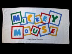 ☆【ディズニー】MICKEY MOUSE バスタオル