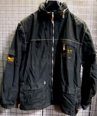 L-R-G‐エルアールジーミリタリージャケットS OD緑