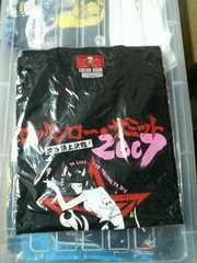 ロッケンローサミット2007Tシャツロカビリークリームソーダピンクドラゴンレア