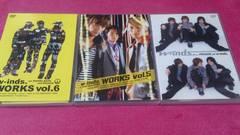 w-inds. DVD �B枚セット ポストカード付き