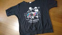 大きいサイズ☆ミキミニドルマン半端袖Tシャツ/3L
