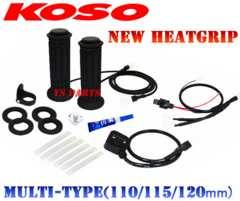 KOSO5段階調節グリップヒーターPCX125PCX150リード110リード125EXズーマーX