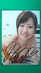 北村ひとみ直筆サイン入り生写真