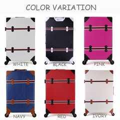 軽量スーツケース TSAロック付き Lサイズ ピンク