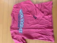 MARVEL★スパイダーマン7部袖Tシャツ*140