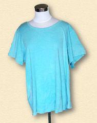 大きいサイズ水色Tシャツ6L