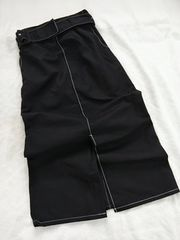 i-sook/ステッチかわいいロングスカート/美品