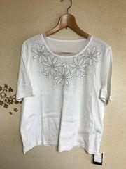 新品タグ付きキラキラティシャツ 3L4L 5000円日本製