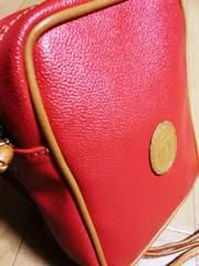 トラサルディTRUSSARDI革製ポシェットショルダーバッグ