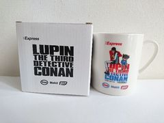 ルパン三世&名探偵コナンコラボ マグカップ(非売品)