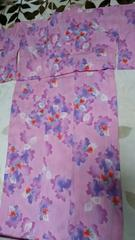 とっても素敵な浴衣。ピンク系