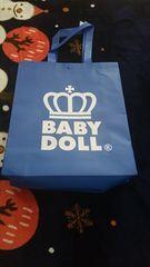 ♪未使用 BABYDOLL 福袋のショップバック ブルー♪