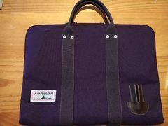 犬印鞄製作所ポートフォリオ紫美品
